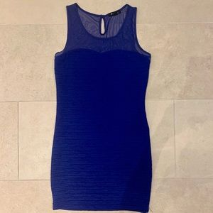 Royal Blue Forever 21 Bodycon Dress